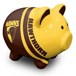 Hawthorn Hawks Piggy Money Box