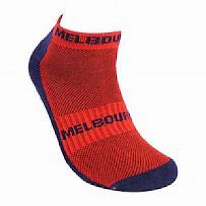 Melbourne Demons 2PK Ankle Socks - Size 7-11