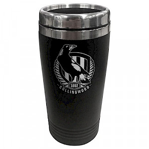 Collingwood Magpies Stainless Steel Travel Mug