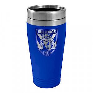 Canterbury Bulldogs Stainless Steel Travel Mug