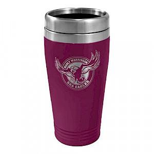 Manly Warringah Sea Eagles Stainless Steel Travel Mug