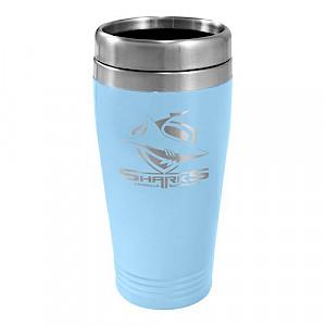 Cronulla Sharks Stainless Steel Travel Mug