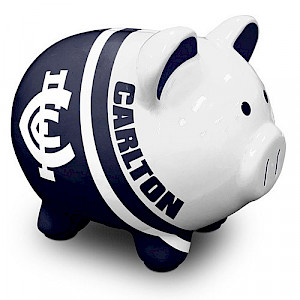 Carlton Blues Piggy Bank