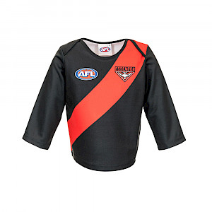 Essendon Bombers Long-sleeved Replica Guernsey - Size 0