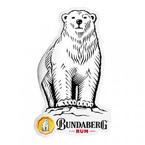 Bundaberg Rum Bear Sticker