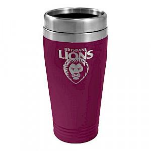 Brisbane Lions Stainless Steel Travel Mug