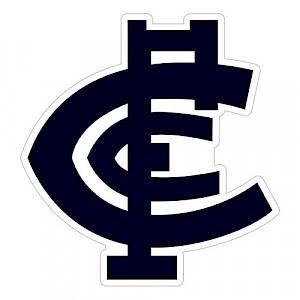Carlton Blues Logo Sticker