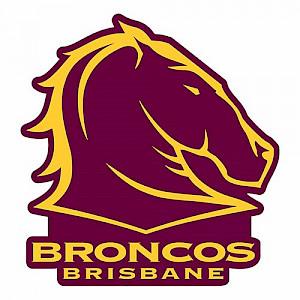 Brisbane Broncos Logo Sticker