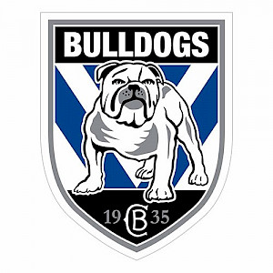 Canterbury Bulldogs Logo Sticker
