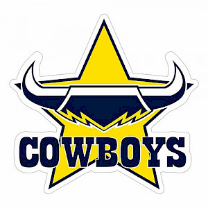 North Queensland Cowboys Logo Sticker