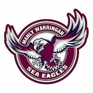 Manly Warringah Sea Eagles Logo Sticker
