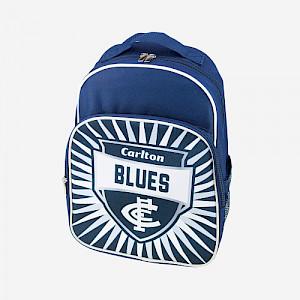 Carlton Blues Shield Backpack