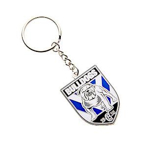 Canterbury Bulldogs Metal Logo Key Ring