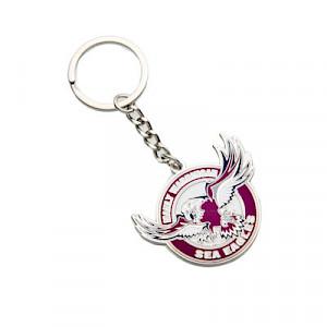 Manly Warringah Sea Eagles Metal Logo Key Ring