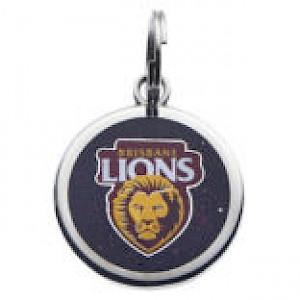 Brisbane Lions Pet Tag