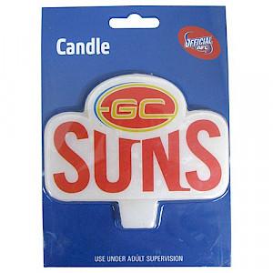 Gold Coast Suns Logo Candle