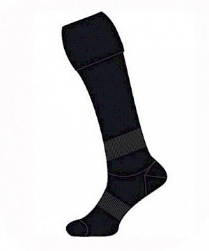 Collingwood Magpies Elite Football Socks - Boys/Girls 13-3