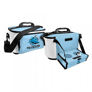 Cronulla Sharks Cooler Bag with Tray