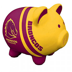 Brisbane Broncos Piggy Bank