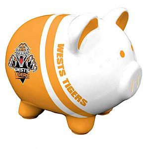 Wests Tigers Piggy Bank