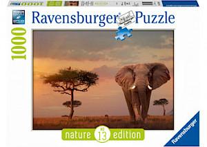 Ravensburger - Elephant of the Massai Mara 1000 pieces RB15159-2