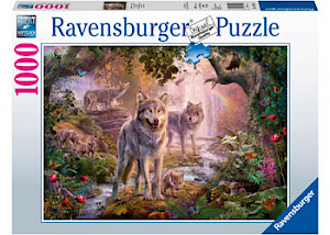 Ravensburger - Summer Wolves Puzzle 1000 pieces RB15185-1