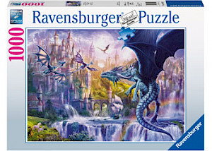 Ravensburger - Dragon Castle Puzzle 1000 pieces RB15252-0