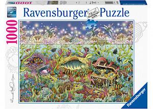 Ravensburger - Underwater Kingdom at Dusk 1000 pieces RB15988-8