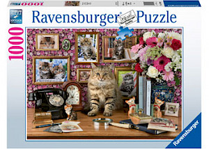 Ravensburger - My Cute Kitty 1000 pieces RB15994-9