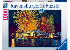 Ravensburger - Fireworks over Sydney Australia 1000 pieces RB16410-3