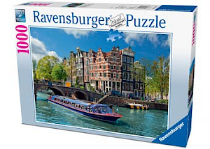 Ravensburger - Canal Tour in Amsterdam Puzzle 1000 pieces RB19138-3