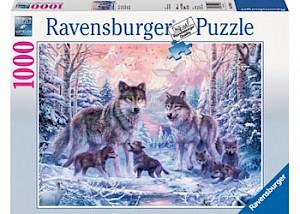 Ravensburger - Arctic Wolves Puzzle 1000 pieces RB19146-8