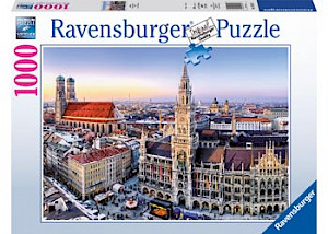 Ravensburger - Beautiful Germany Puzzle 1000 pieces RB19426-1