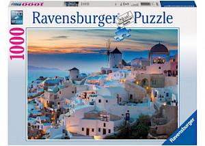 Ravensburger - Santorini/Cinque Terre Puzzle 1000 pieces RB19611-1