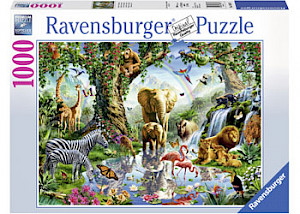 Ravensburger - Adventures in the Jungle 1000 pieces RB19837-5
