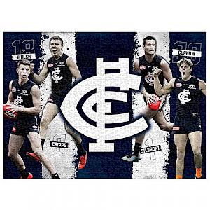 Carlton Blues 4 Player Puzzle