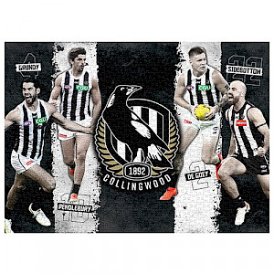 Collingwood Magpies 4 Player Puzzle