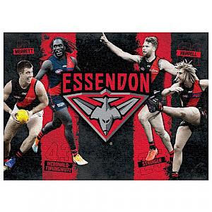 Essendon Bombers 4 Player Puzzle