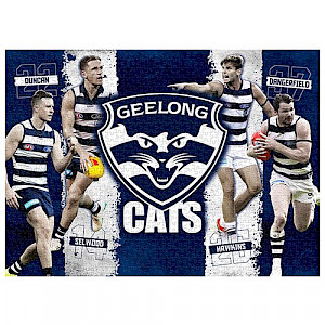 Geelong Cats 4 Player Puzzle