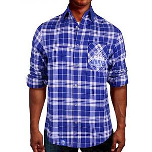 North Melbourne Kangaroos Flannel Shirt - Size S