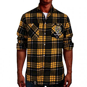 Richmond Tigers Flannel Shirt - Size XL