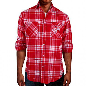 Sydney Swans Flannel Shirt - Size M