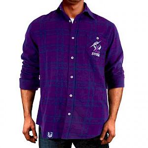 Melbourne Storm Flannel Shirt - Size M