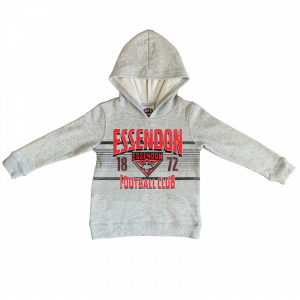 Essendon Bombers Youth Printed Hood - Size 10