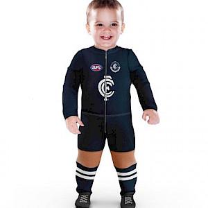 Carlton Blues Footysuit - Size 0