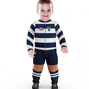Geelong Cats Footysuit - Size 1