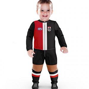 St Kilda Saints Footysuit - Size 1