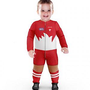 Sydney Swans Footysuit - Size 00