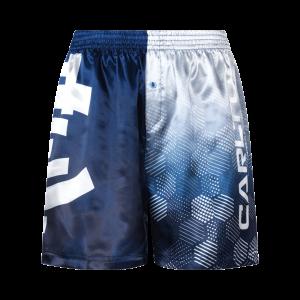 Carlton Blues Satin Boxer Short - Size XS