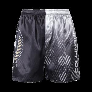 Collingwood Magpies Satin Boxer Short - Size XS